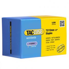 Boîte de 5000 agrafes galvanisées de type 73 L. 12 mm - TA-0457 - Tacwise