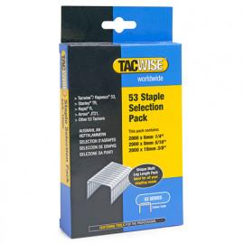 Boîte de 6000 agrafes type 53 L. 6/8/10 mm - TA-1095 - Tacwise