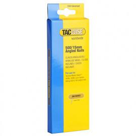 Boîte de 1000 clous à tête plate en acier inoxydable en bandes inclinées 26° D. 1,5 x 15 mm - TA-0971 - Tacwise