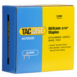 Boîte de 10000 agrafes galvanisées de type 80 L. 8 mm - TA-0382 - Tacwise