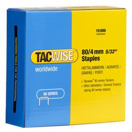 Boîte de 10000 agrafes galvanisées de type 80 L. 4 mm - TA-0380 - Tacwise