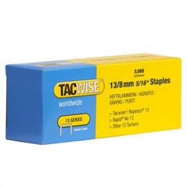 Boîte de 5000 agrafes galvanisées de type 13 L. 8 mm - TA-0234 - Tacwise