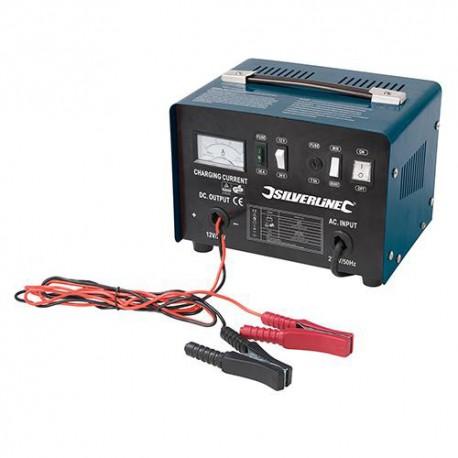 Chargeur de batterie 12 / 24 V pour batteries de 20 Ah à 240 Ah - 178555 - Silverline