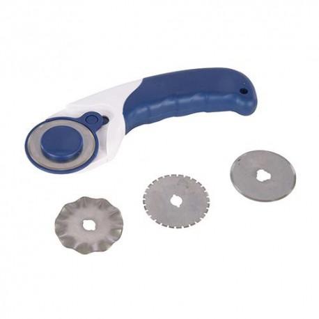 Cutter roulette de découpe D.45 mm - 184953 - Silverline