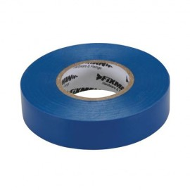 Ruban isolant 19 mm x 33 M, Bleu - 187539 - Fixman