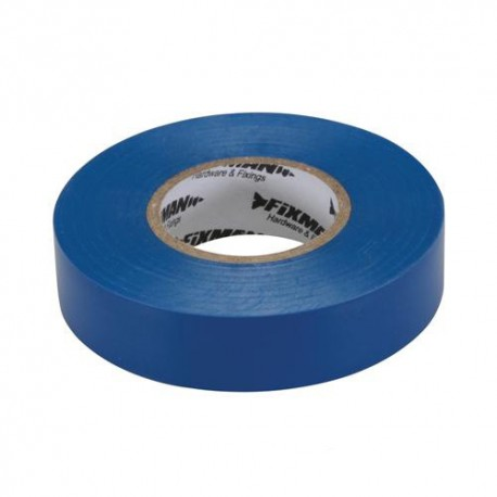 Ruban isolant 19 mm x 33 M, Bleu - 187539 - Fixman