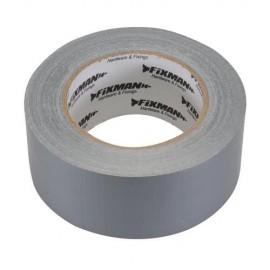 Adhésif toilé ultra robuste 50 mm x 50 m Argent - 188824 - Fixman