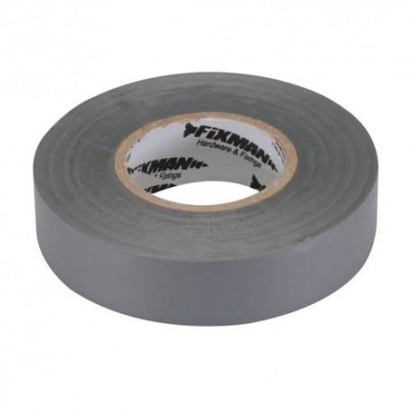 Ruban isolant 19 mm x 33 M, Gris - 188969 - Fixman