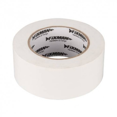 Adhésif toilé ultra robuste 50 mm x 50 m Blanc - 190229 - Fixman