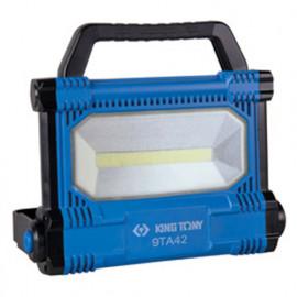 Projecteur de chantier 3000 lm à LED 30W COB filaire 230V - 9TA42AA - King Tony