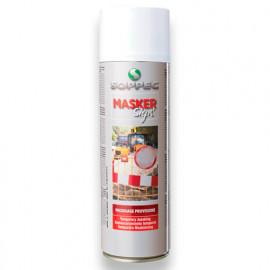 Peinture aérosol de masquage provisoire MASKER SIGN en spray pour panneaux de signalisation 500 ml - 142107 - Soppec