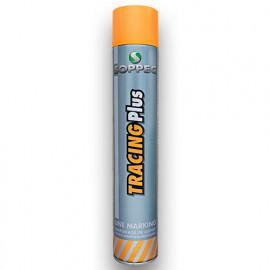 Peinture aérosol pour marquage au sol haute performance TRACING PLUS 750 ml de couleur Blanche - 151700 - Soppec