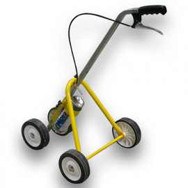 Chariot de traçage de ligne 4 roues pour aérosol 500 ou 750 ml - 441607J - Soppec