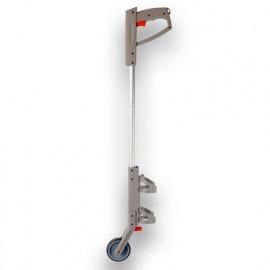 Canne de marquage au sol 1 roue PVC pour traceurs de chantier - 441617 - Soppec