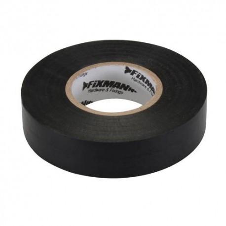 Ruban isolant 19 mm x 33 M, Noir - 192069 - Fixman