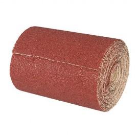 Rouleau papier abrasif corindon 115 mm x 50 M Grain 80 - 194866 - Silverline