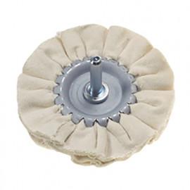 Disque de polissage en coton D. 80 mm Q. 6 mm - 339.30 - PG Professional