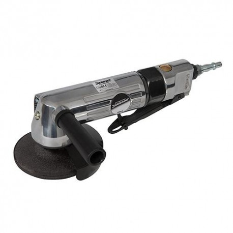 "Meuleuse d'angle pneumatique D.100 mm raccord 1/4"" BSP - 196512 - Silverline"