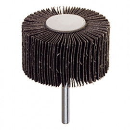 Roue à lamelles abrasives D. 40 x 20 mm Grain 80 Q. 6 mm - 358.40 - PG Professional