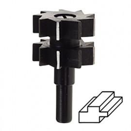 Mèche de défonceuse à double tenon D. 30 x 22 mm Q. 8 mm - 367.00 - PG Professional