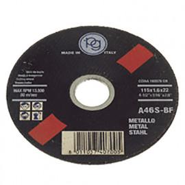 Disque à tronçonner le métal D. 115 x 1 x 22,23 mm - 406.95 - PG Professional