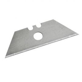 10 lames avec trou central pour cutters et grattoirs 0,5 mm - 196587 - Silverline
