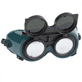 Lunettes de soudeur double lentille - professionnel EN 166 - 498.60 - PG Professional
