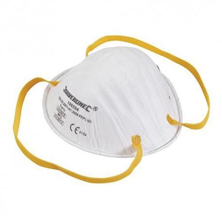 Masque respiratoire moulé FFP1 NR - 196594 - Silverline