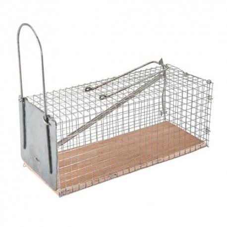 Piège/ cage à souris L. 250 x 90 x 90 mm - 197512 - Fixman