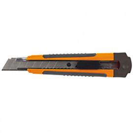 Cutter professionnel avec lame de 18 mm + 3 lames - 566.16 - PG Professional
