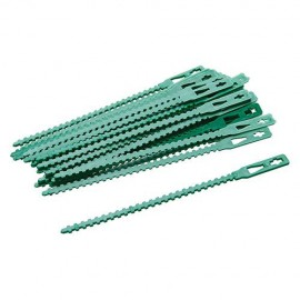 30 attaches réglables pour plantes 135 mm - 197535 - Silverline