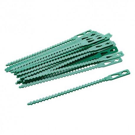 30 attaches réglables pour plantes 135 mm - 197535 - Silverline
