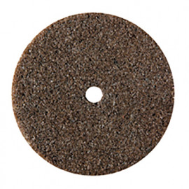 2 meules abrasives corindon brun D. 22 mm - M.2640 - PG Mini