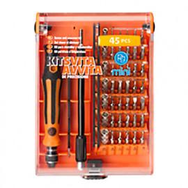 Kit de tournevis de précision 45 pièces - M.8775 - PG Mini