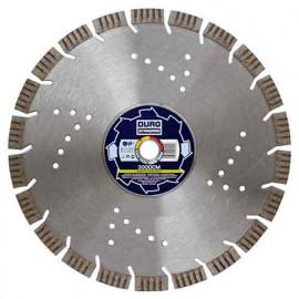 Disque diamant segmenté 125DCM - D. 125 x Al. 22,23 mm, Ht. 15 mm - Matériaux de construction - 30151 - Duro Standard