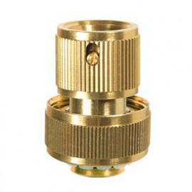 Raccord rapide Aquastop laiton pour tuyau D. 15 mm - PRA/RLB.4216 - Ribiland
