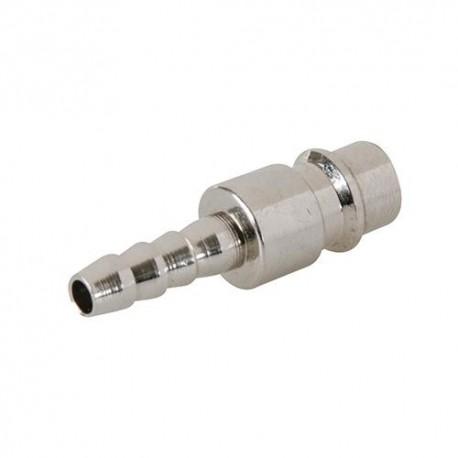 2 coupleurs Euro pour tuyau air comprimé - 237782 - Silverline