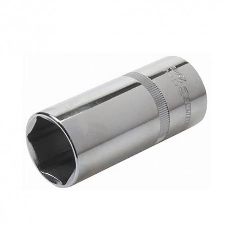"""Douille métrique profonde 1/2"""" D. 24 mm en chrome-vanadium - 238098 - Silverline"""