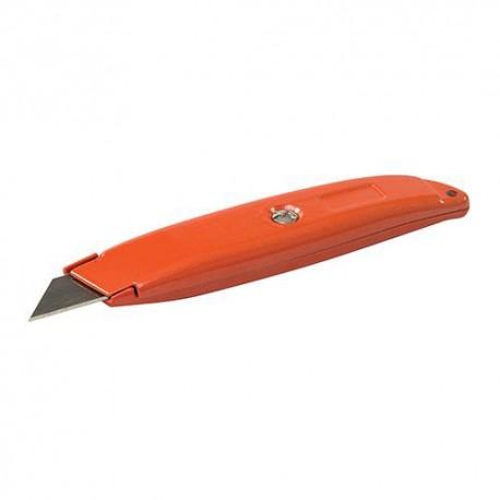 Cutter à lame rétractable argenté 150 mm - 240590 - Silverline