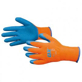 Gants maitrise thermique - Bleu et Orange - OXS2486 - OX