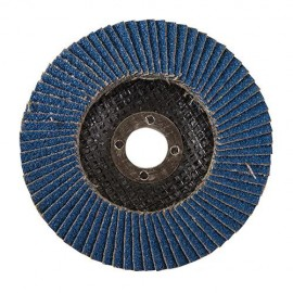 Disque à lamelles en zirconium D. 125 mm Grain 80 - 245102 - Silverline