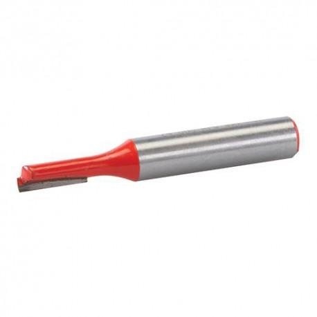 Mèche à rainer droite D. 5 x 12 mm, queue de 8 mm - 248439 - Silverline