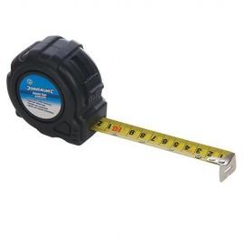 Mètre ruban XL antichoc 5 M x 25 mm - 250192 - Silverline