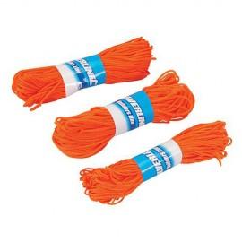 3 ficelles pour cordeaux de maçon 20 m - 250408 - Silverline