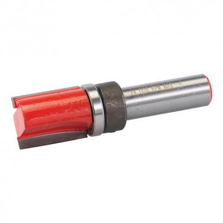 """Mèche à affleurer D. 3/4"""" x 1-1/4"""" x 3/4"""" avec roulement, queue de 12 mm - 254344 - Silverline"""