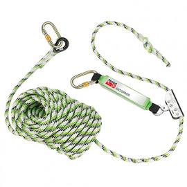 Dispositif coulissant antichute sur corde 20 m en 353-2 AKROBAT - AK200420 - Industrial Starter