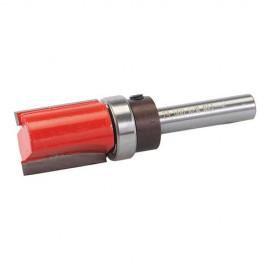 """Mèche à affleurer D. 5/8"""" x 1"""" x 5/8"""" avec roulement, queue de 8 mm - 257049 - Silverline"""