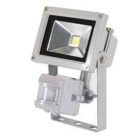 Projecteur électrique LED 10 W 650 lm avec détecteur de mouvements - 259800 - Silverline