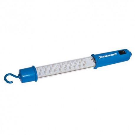 Lampe d'inspection 30 LED 320 lm à batterie rechargeable - 261135 - Silverline