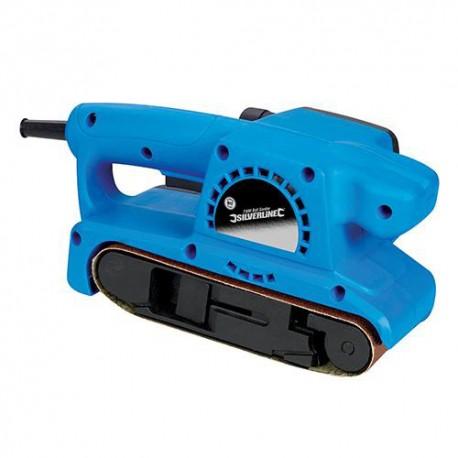 Ponceuse à bande électrique 730 W 75 x 457 mm Silverline - 261792 - Silverline